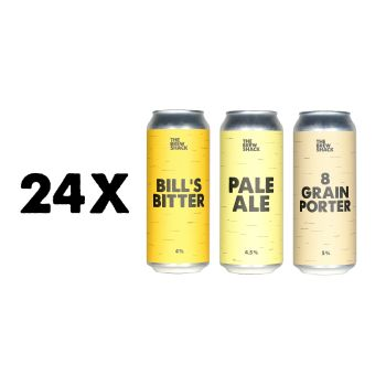 24x MIXED PACK 500ml